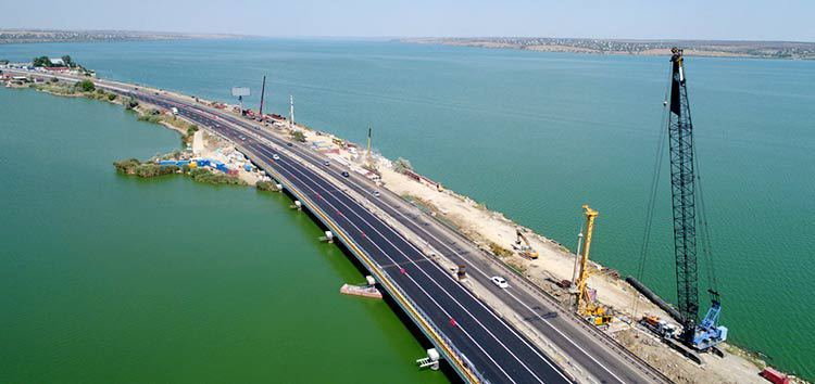 Part of Ukraine's road network which will benefit from a €450 million EBRD loan to state road agency Ukravtodor