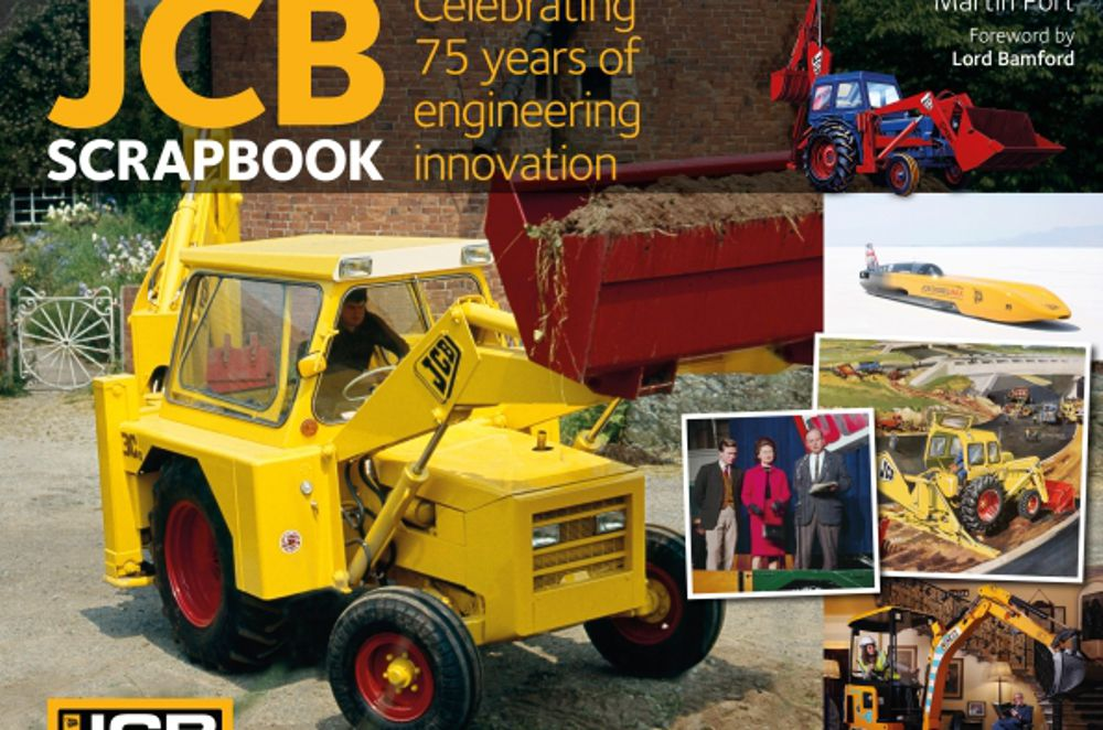 JCB Scrapbook celebrates 75 years of British Engineering Innovation