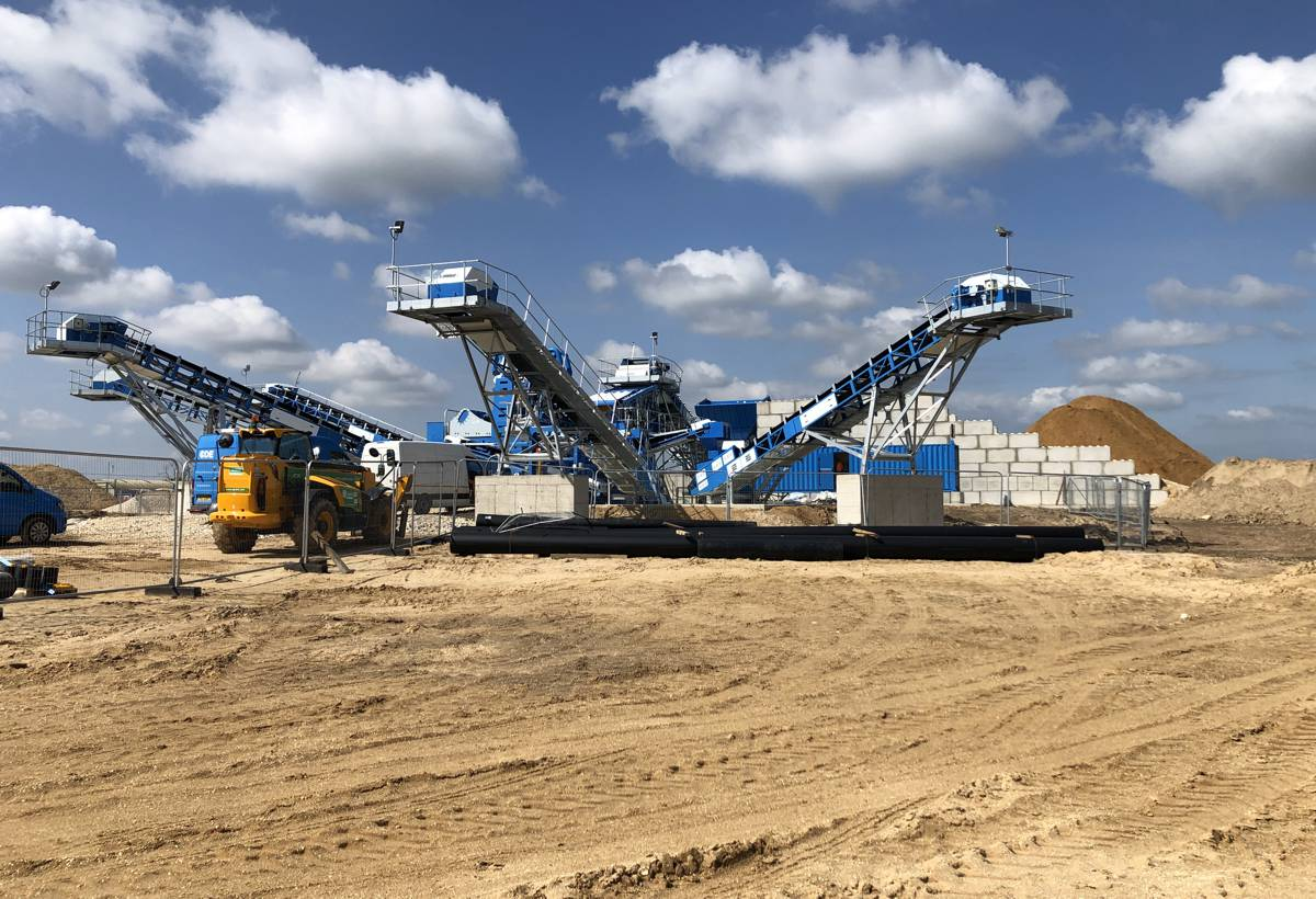 Breedon Group invests in CDE wet processing recycling plant for North Cave Quarry