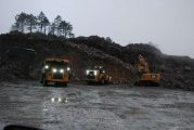 Steer AS Autonomous Trucks head for stone quarry in Norway