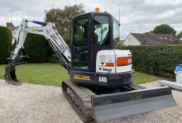 ShoreTrench goes hi-tech with Bobcat E45 Mini-Excavator and Depth Check system