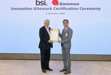 Gammon Construction wins Kitemark Certification for Innovation Management