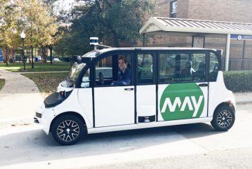May Mobility chooses Velodyne Lidar for Self-Driving Shuttles