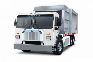 Peterbilt Model 520EV truck eligible for $150k CARB HVIP Voucher