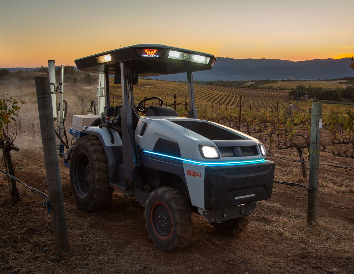 Monarch Tractor introduces the smartest, fully electric, autonomous tractor