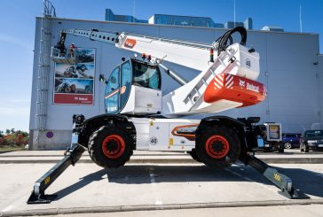 Bobcat introduces new generation of Rotary Telehandlers