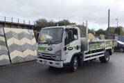 Bowland Stone expands fleet with Isuzu 7.5 tonne rigid tipper truck