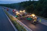 VÖGELE pavers enable German motorway rehabilitation in record time