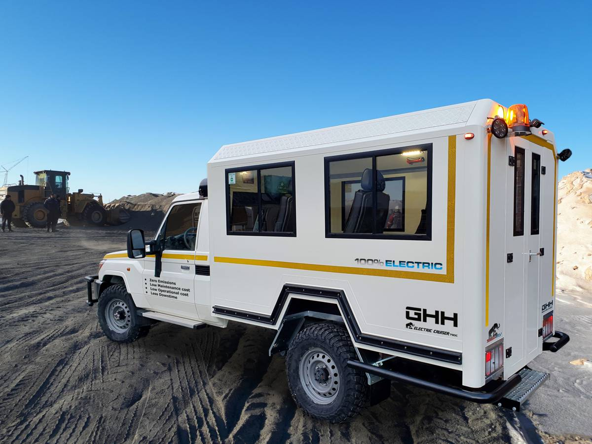GHH announce new conversion kits for electric off-road Tembo 4x4