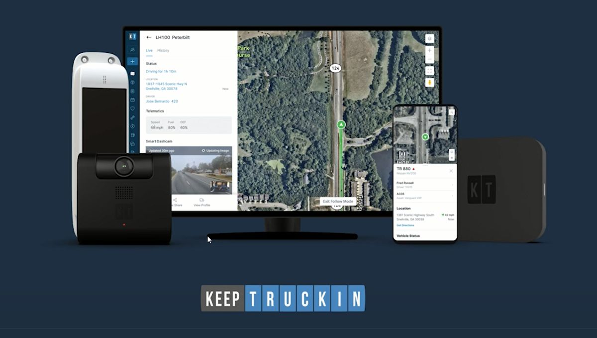 KeepTruckin launches Command-Center for Fleet Ops with integrated GPS Tracking