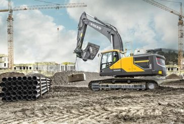 VolvoCE electro-hydraulic Construction Equipment significantly improves fuel efficiency