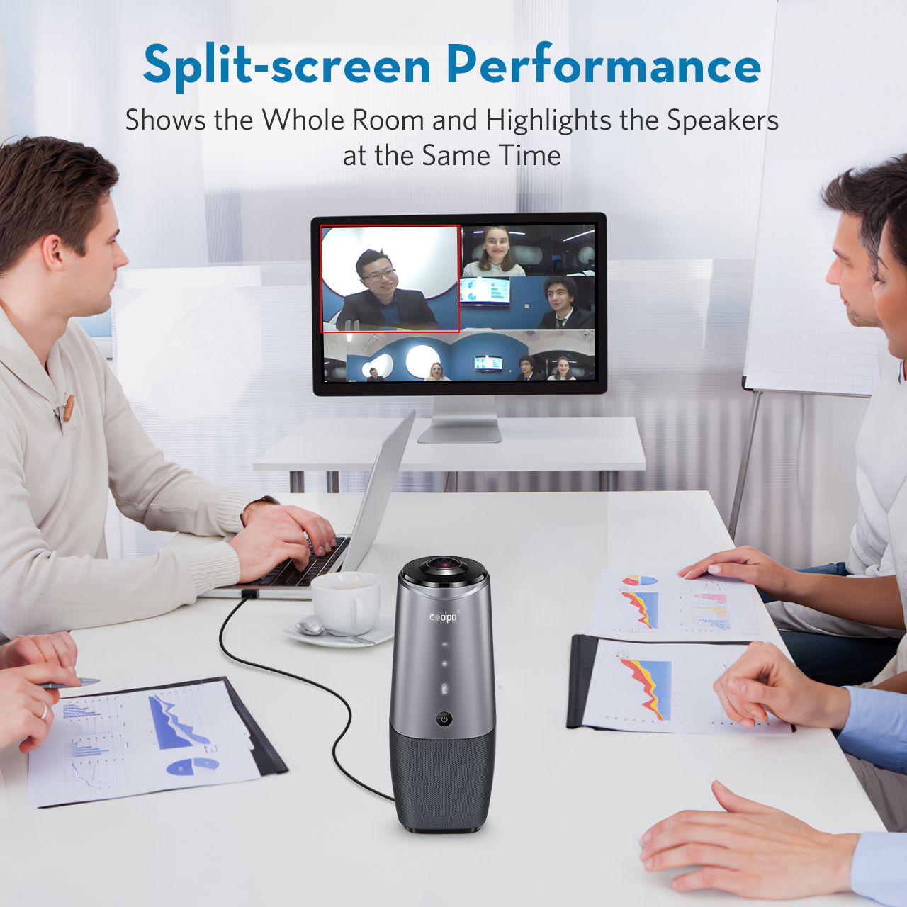 Virtual meetings get smart with All-in-One 360 intelligent conference solution