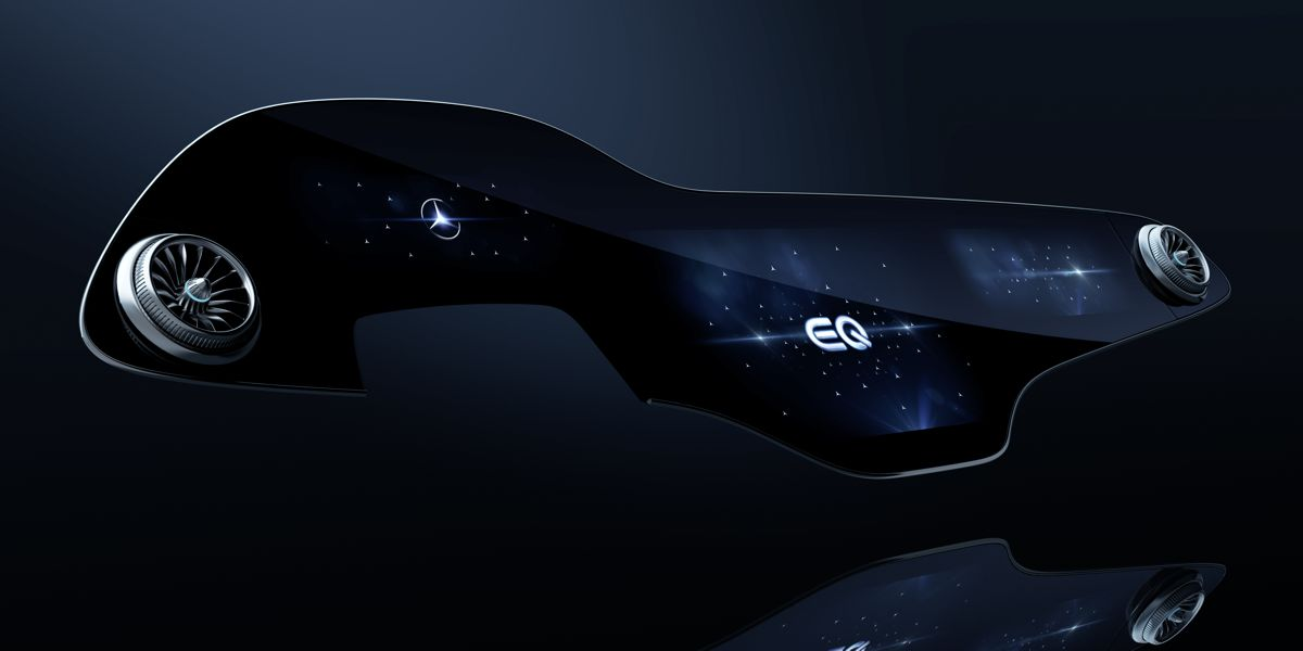 Mercedes EQS MBUX Hyperscreen driver assistant comes with artificial intelligence