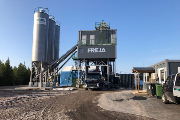 Swerock acquires cement and mineral aggregate operations in Luleå, Sweden