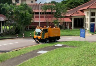ENWAY receives approval for Autonomous Sweepers on public roads in Singapore