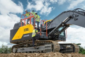 VolvoCE launches all new 35-tonne EC350E Excavator
