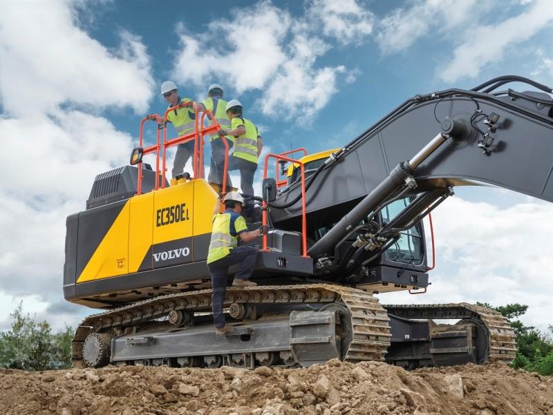 VolvoCE launches all new 35-tonne EC350E Excavator