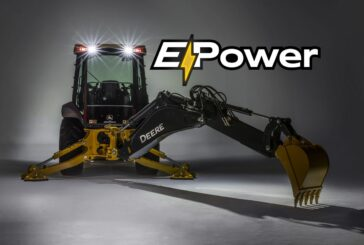 John Deere and National Grid testing their first Electric Backhoe