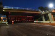 Highways England uses huge steel beams to create M53's newest bridge