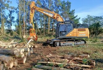 CASE crawler excavators at work throughout Europe on demanding jobsites