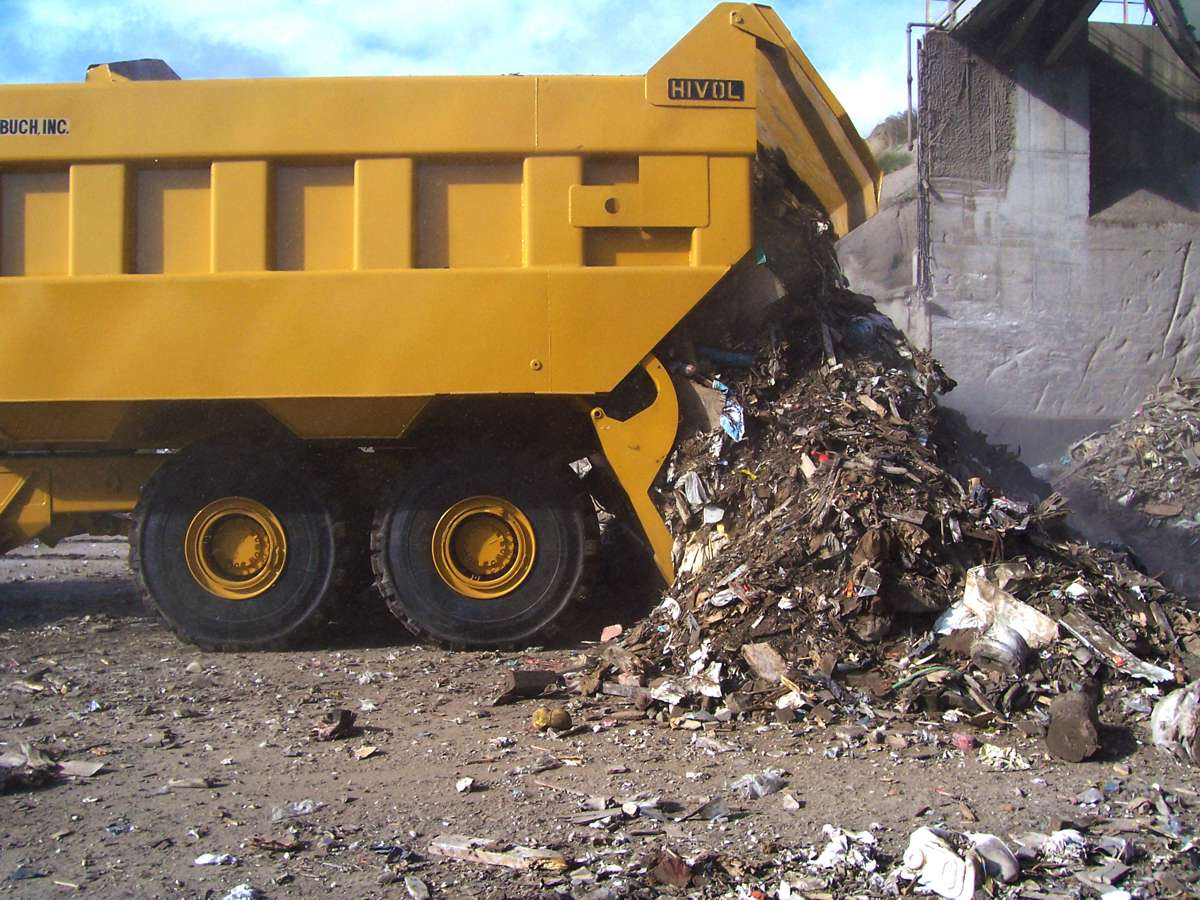For hauling operations working with significantly lighter materials, such as refuse or some light-weight aggregate, adding a custom truck body in combination with a rear ejector can further increase productivity.