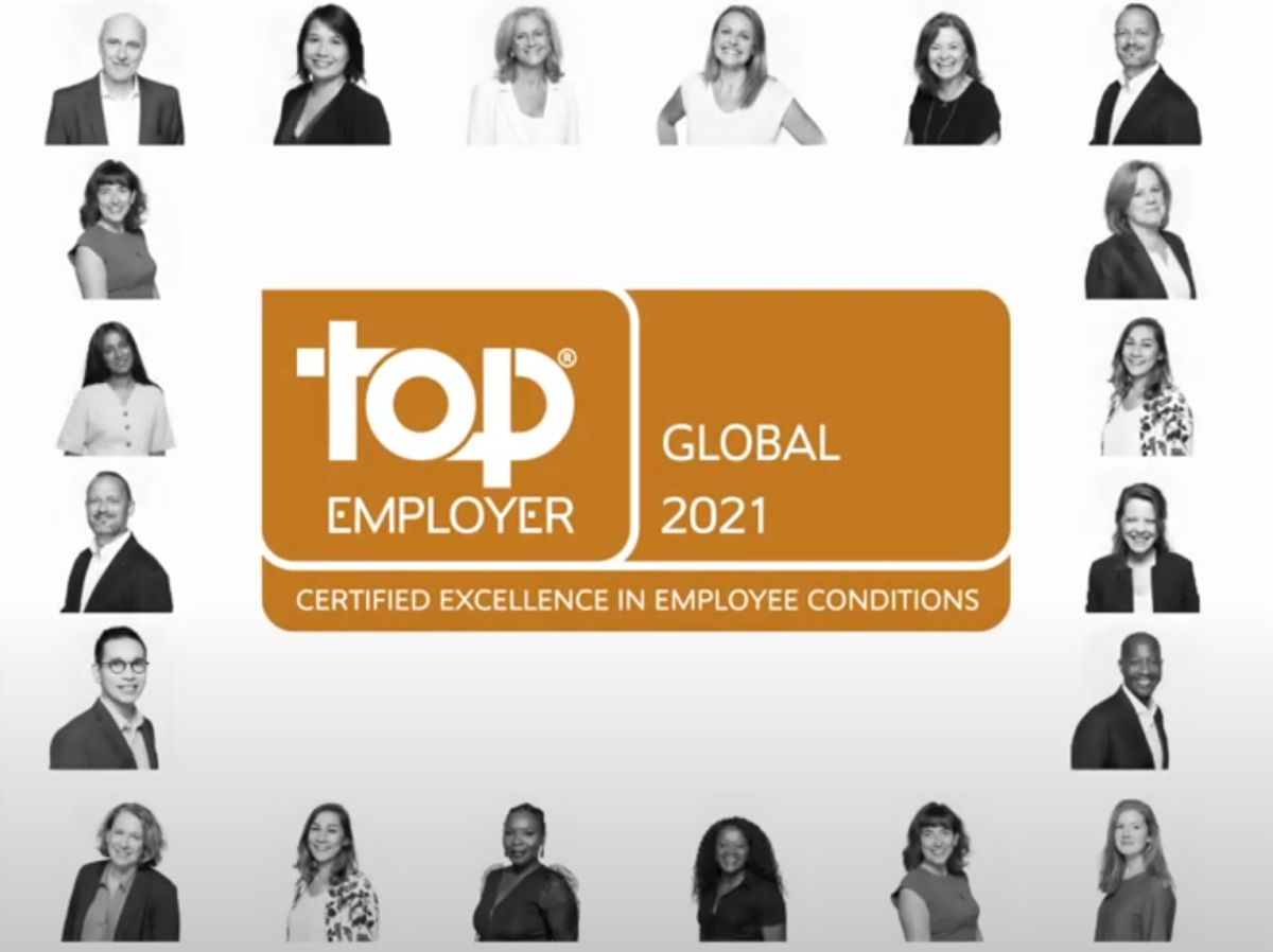 Saint-Gobain wins 2021 Global Top Employer certification