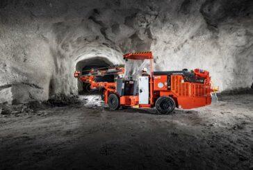 Sandvik DD212 Development drill rig delivers versatility for narrow vein tunnelling
