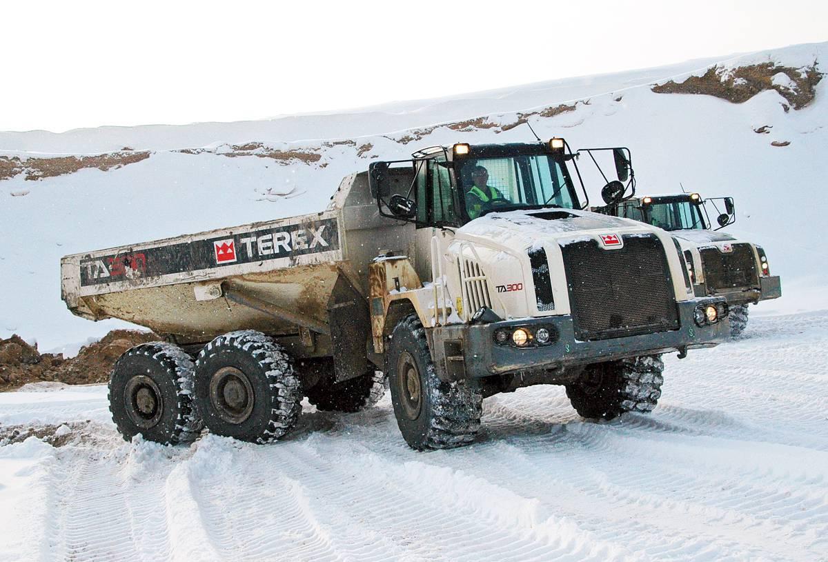 Terex Trucks explores winter hauler dump truck care and maintenance