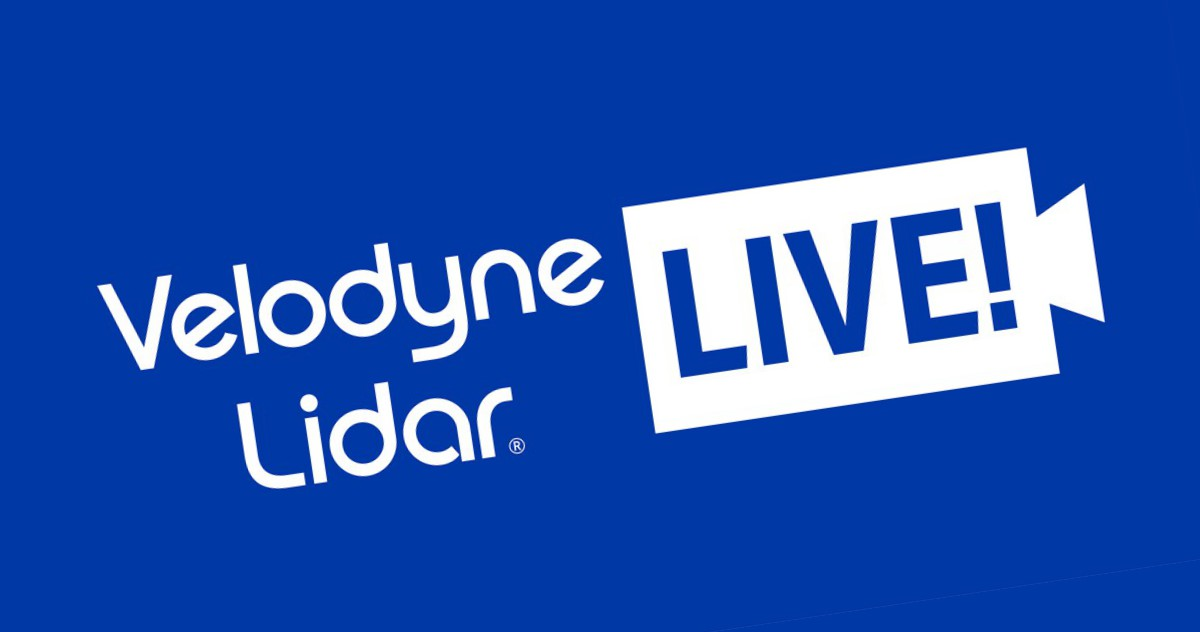 Explore Smart Cities, Airports and Disaster Response with Velodyne Lidar LIVE Webinars