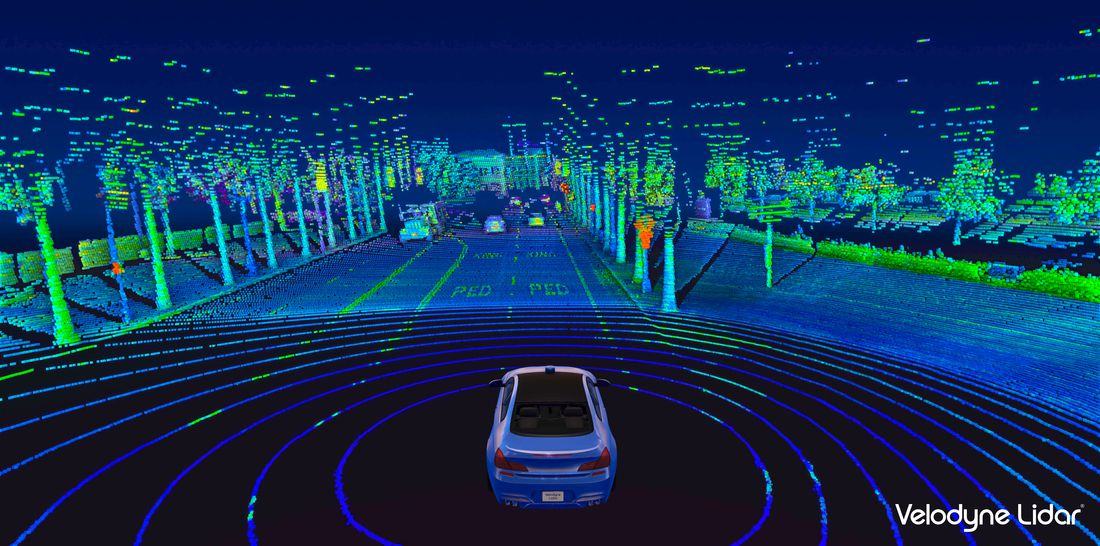 Lidar Sensor makers build on NVIDIA DRIVE