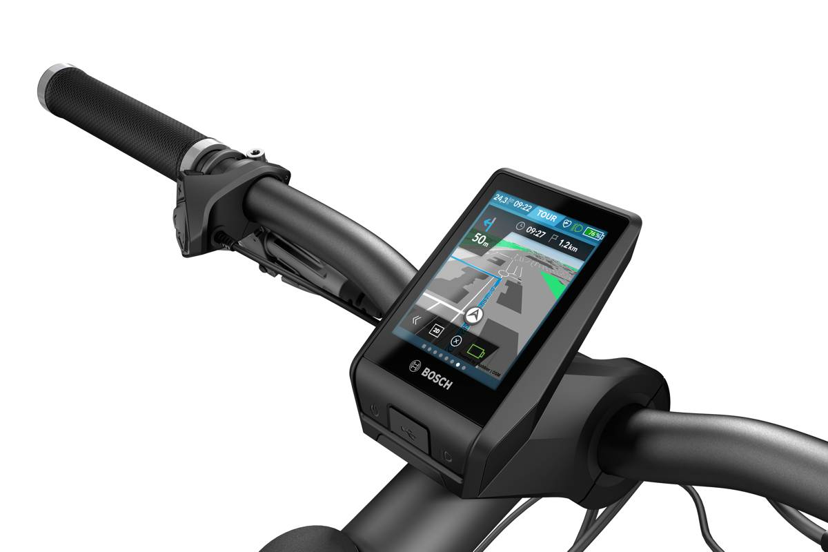 Thanks to Nyon, the eBiker is connected to the digital world and can access functions such as on-board navigation and fitness tracking