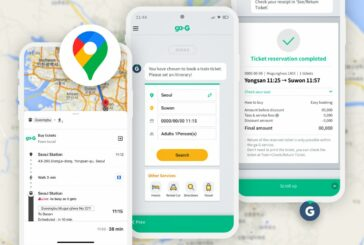 Ntuple launches Railroad Ticketing System based in Google Maps in Korea