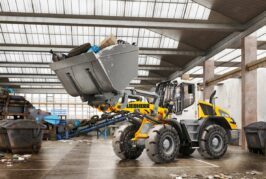 Liebherr new brake assistant reduces stopping distance for wheel loaders
