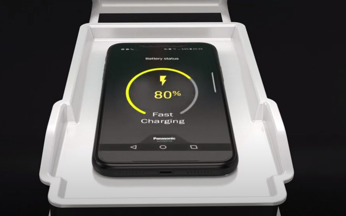 Panasonic introduces wireless mobile device charging for vehicles at CES