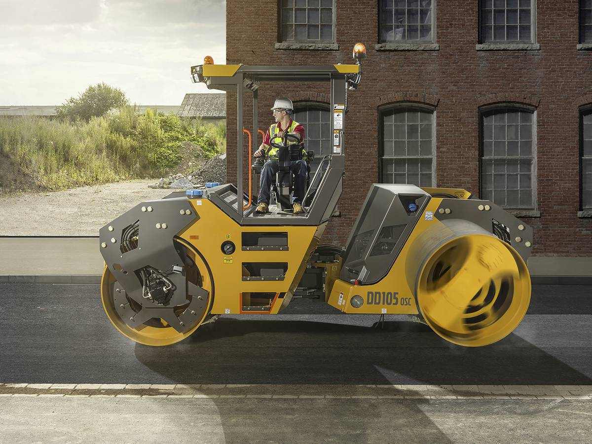 Volvo rolls out upgraded 10-tonne asphalt compactors for emerging markets