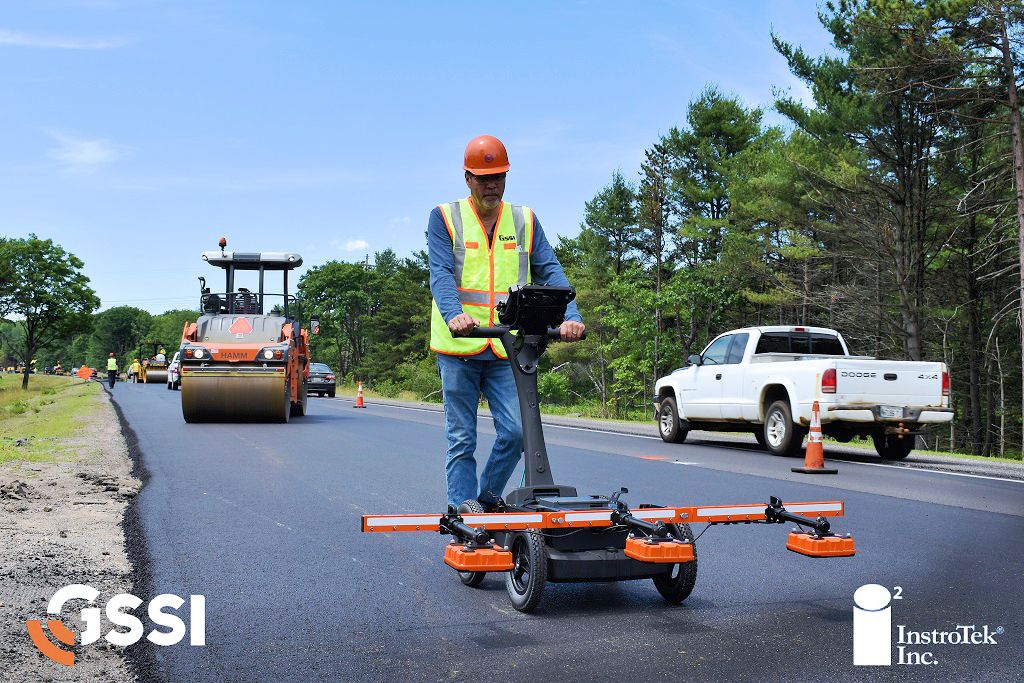 InstroTek takes on GSSI PaveScan® RDM Continuous Asphalt Density Gauges