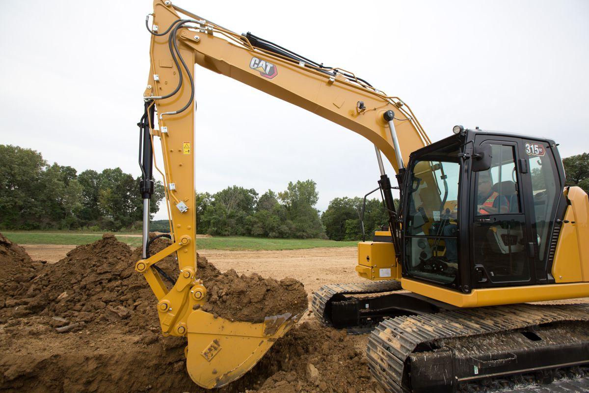 New Cat 315 GC next-generation Excavator reduces maintenance and fuel costs