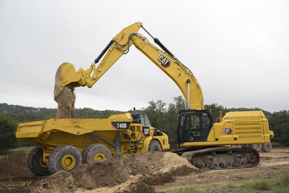 Next Generation Cat 349 Excavator delivers 45 percent more operating efficiency