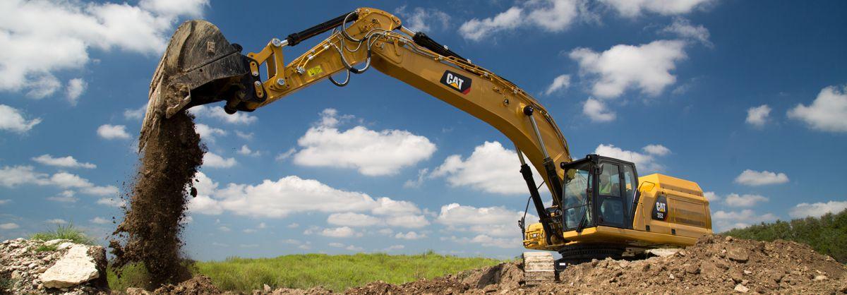 Cat introduces new 352 Excavator