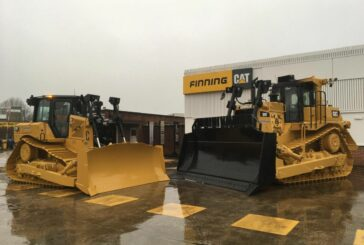 CATPLANT celebrates 40 years with a custom Cat Dozer