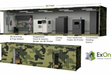 ExOne developing portable 3D Printing Factory in a shipping Container