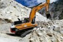 Hyundai HX520L Excavator polishes off the competition at Tuscan marble quarry