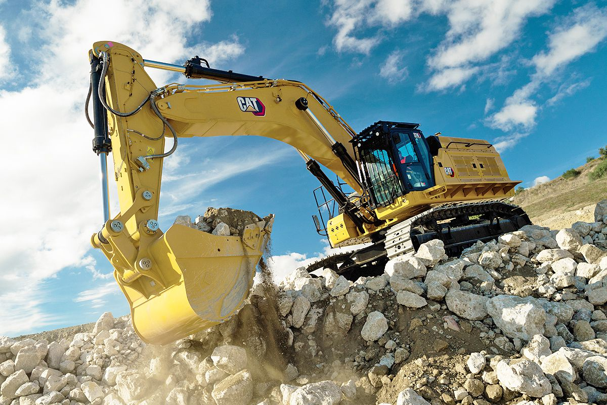 New Cat 374 Excavator designed for high-production and durability