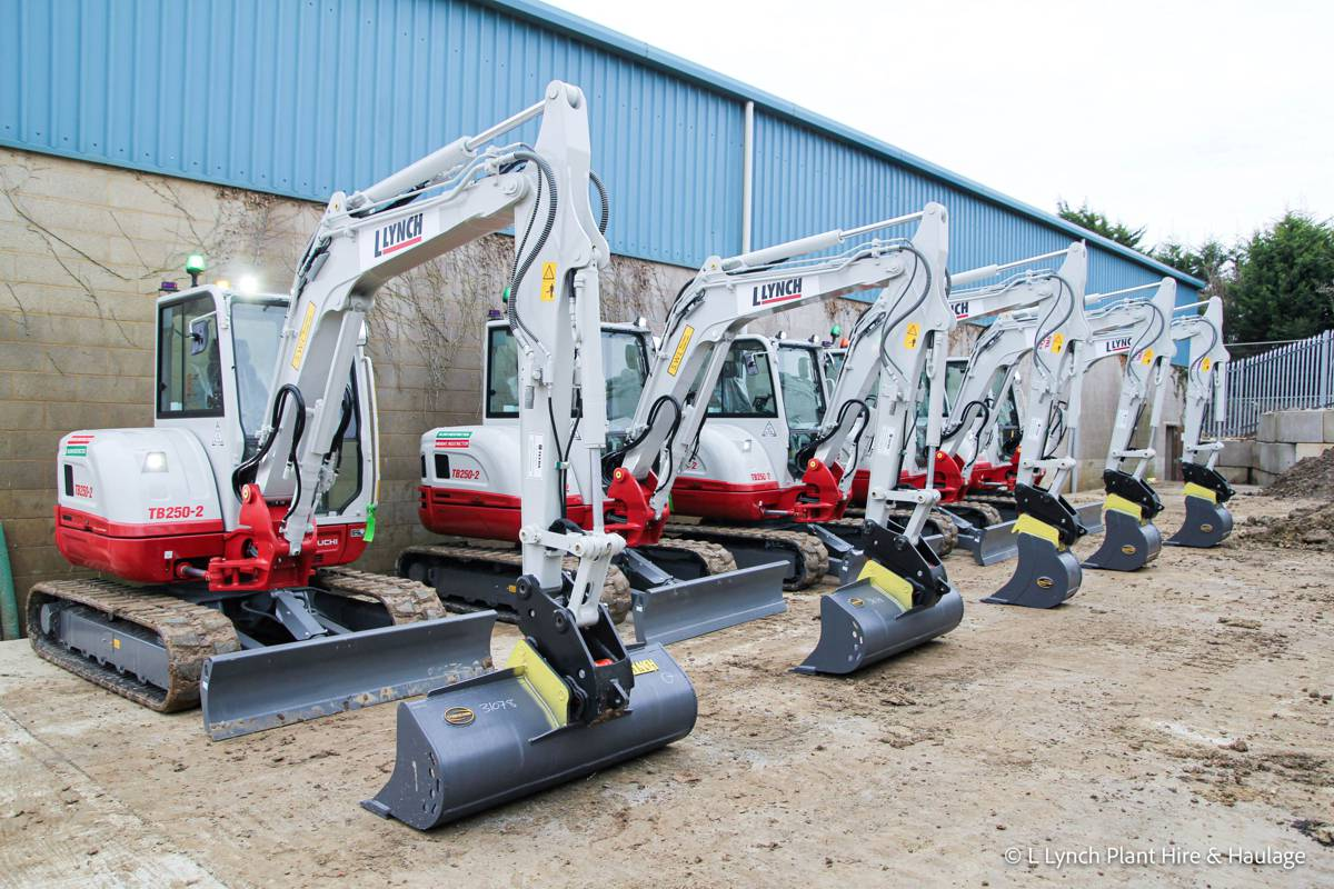 Lynch Plant Hire expands fleet with Takeuchi excavator fitted with GKD machine control