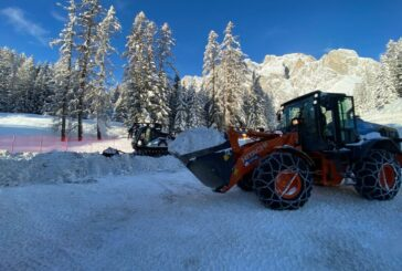 Hitachi fleet put to work at the Alpine World Ski Championships