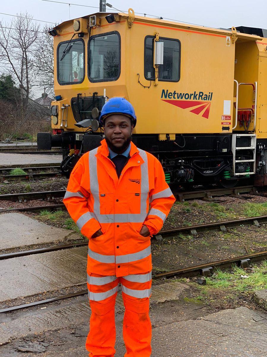 Paul Adeoye - Anglia apprentice