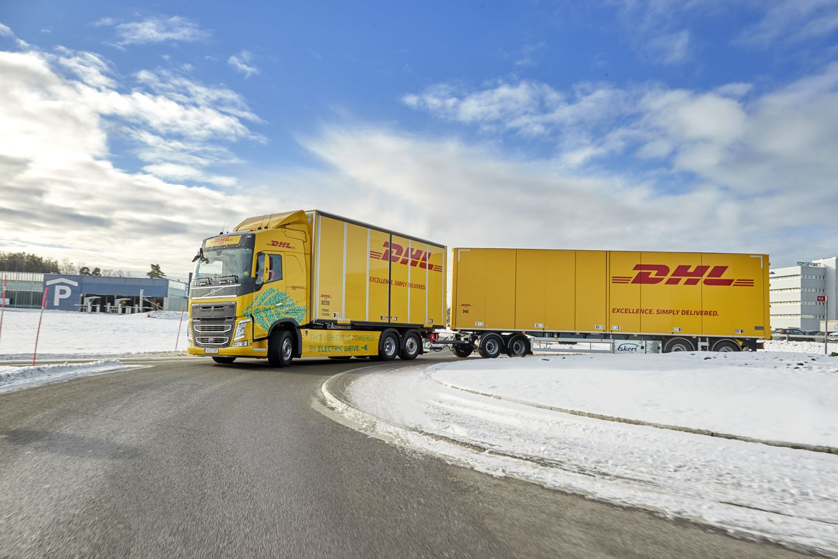 DHL Freight and Volvo Trucks team-up for faster transition to fossil free transport