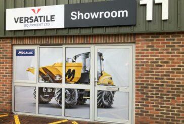 Mecalac dealer Versatile Equipment expands Kent headquarters in the UK