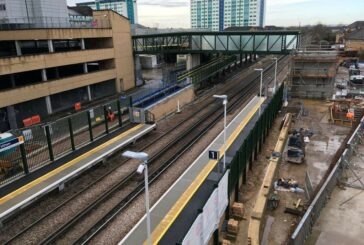 Feltham Station upgrade completed