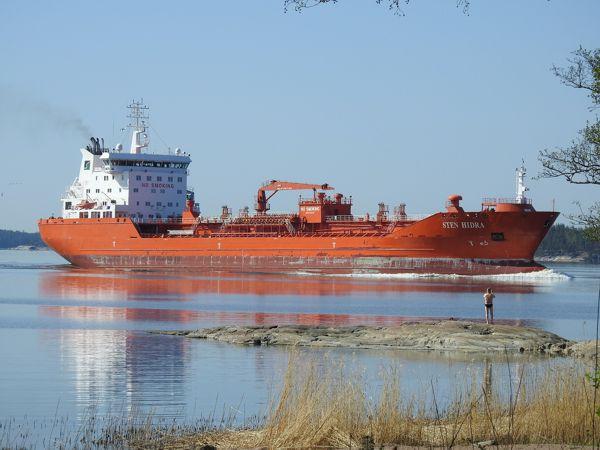 Bitumen Tanker Ship